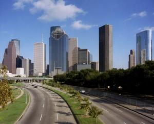 Một góc thành phố Houston
