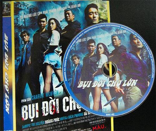 Dia lau DVD bui doi cho lon
