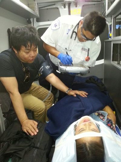 Ca sĩ Quang Lê, Lam Anh bị tai nạn