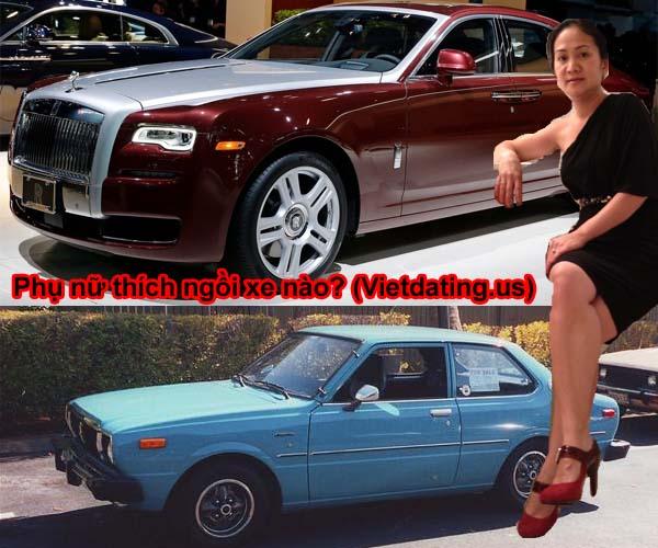 Phụ nữ thích ngồi xe Roll Royce hay Corolla?