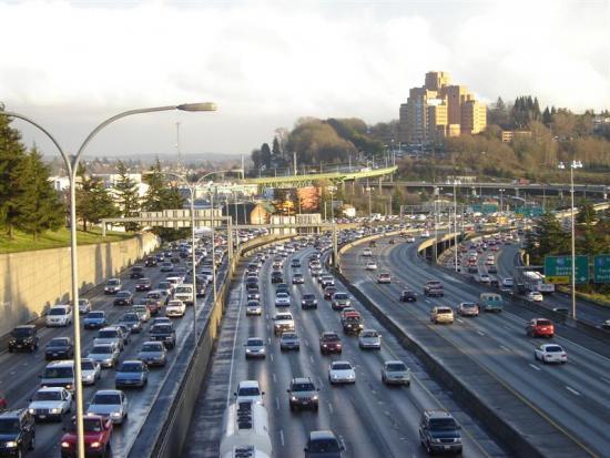 USA traffic - Ket xe o Hoa Ky