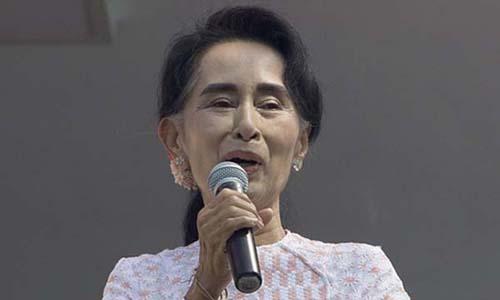 Kyi, Lanh dao Dang Doi Lap (NLD)