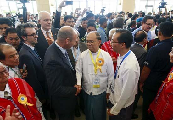 Tong thong Thein Sein
