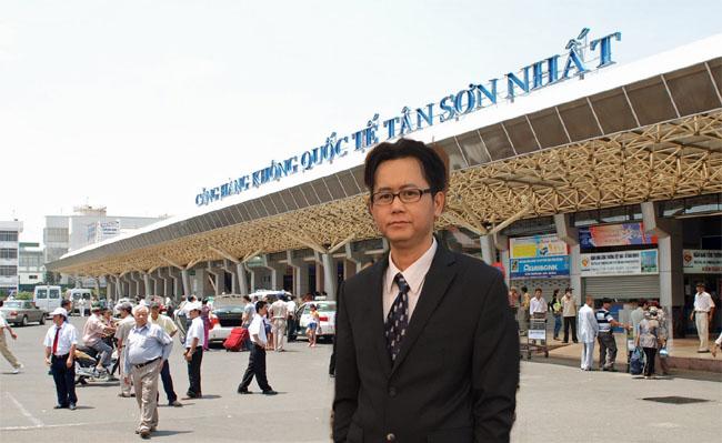 Viet Kieu My tai phi truong Tan Son Nhat