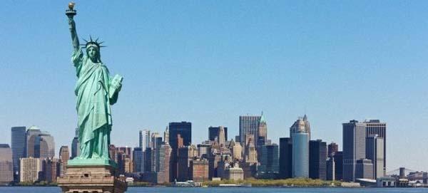 Tượng Nữ Thần Tự Do Tại Mỹ