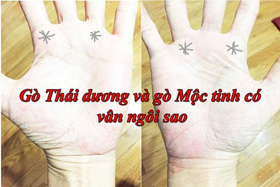 Go Thai Duong va Go Moc Tinh co van ngoi sao