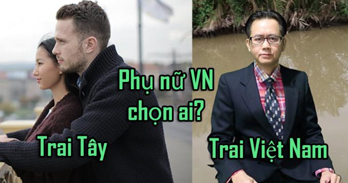 Đàn ông Việt Nam và đàn ông phương Tây có gì khác nhau?