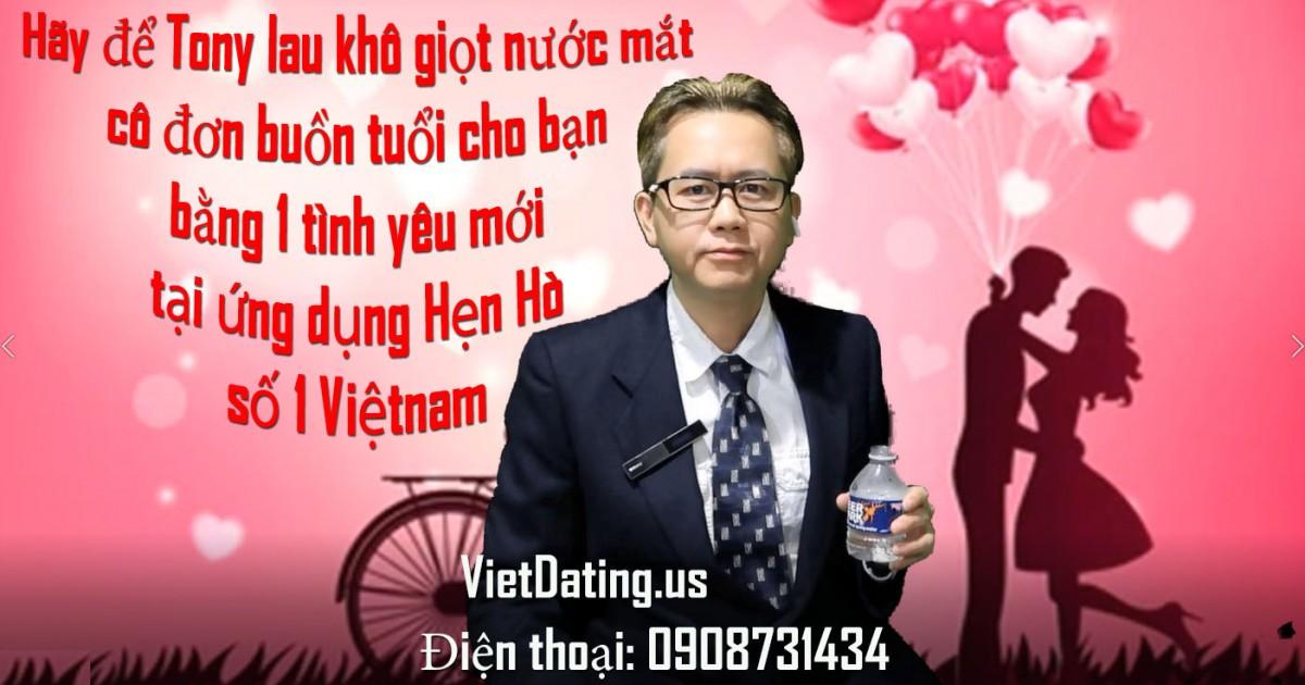 Hảy tìm 1 tình yêu mới tại ứng dụng Hẹn Hò số 1 Việtnam