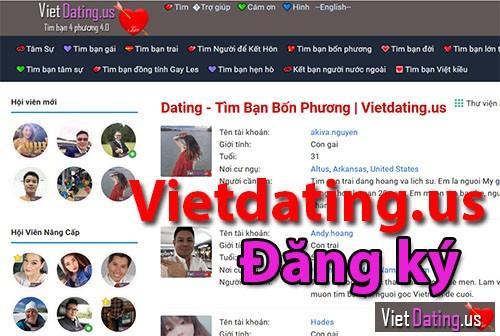 Vietdating Tim ban bon phuong