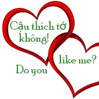 Cậu thích tớ không?