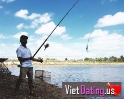 I often go fishing on weekend. I like it