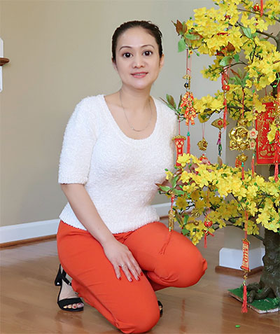 Vietnamese woman in US